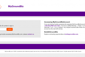 www.mygroundbiz.com – FedEx My Ground Biz Login