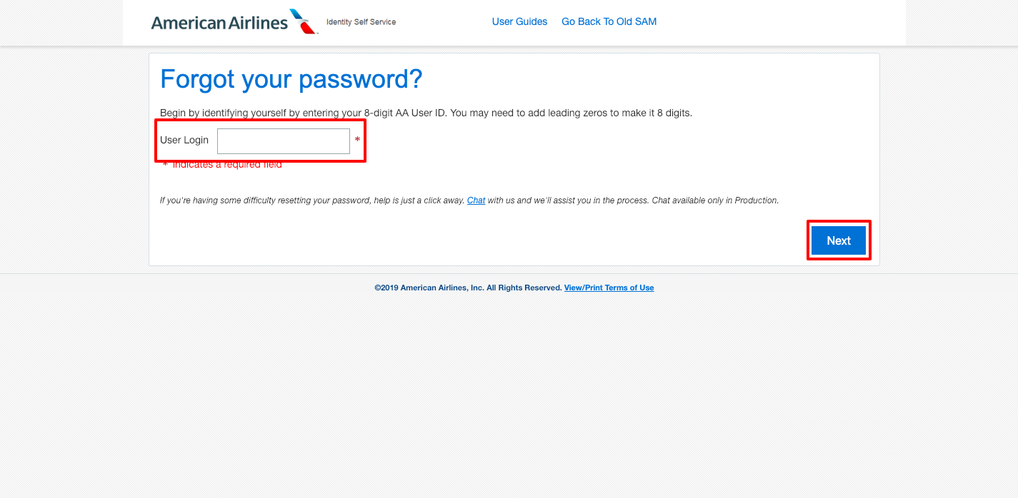 JetNet American Airlines login