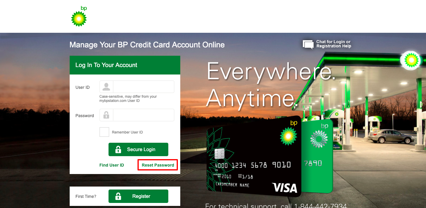 Manage Your BP Credit Card Account