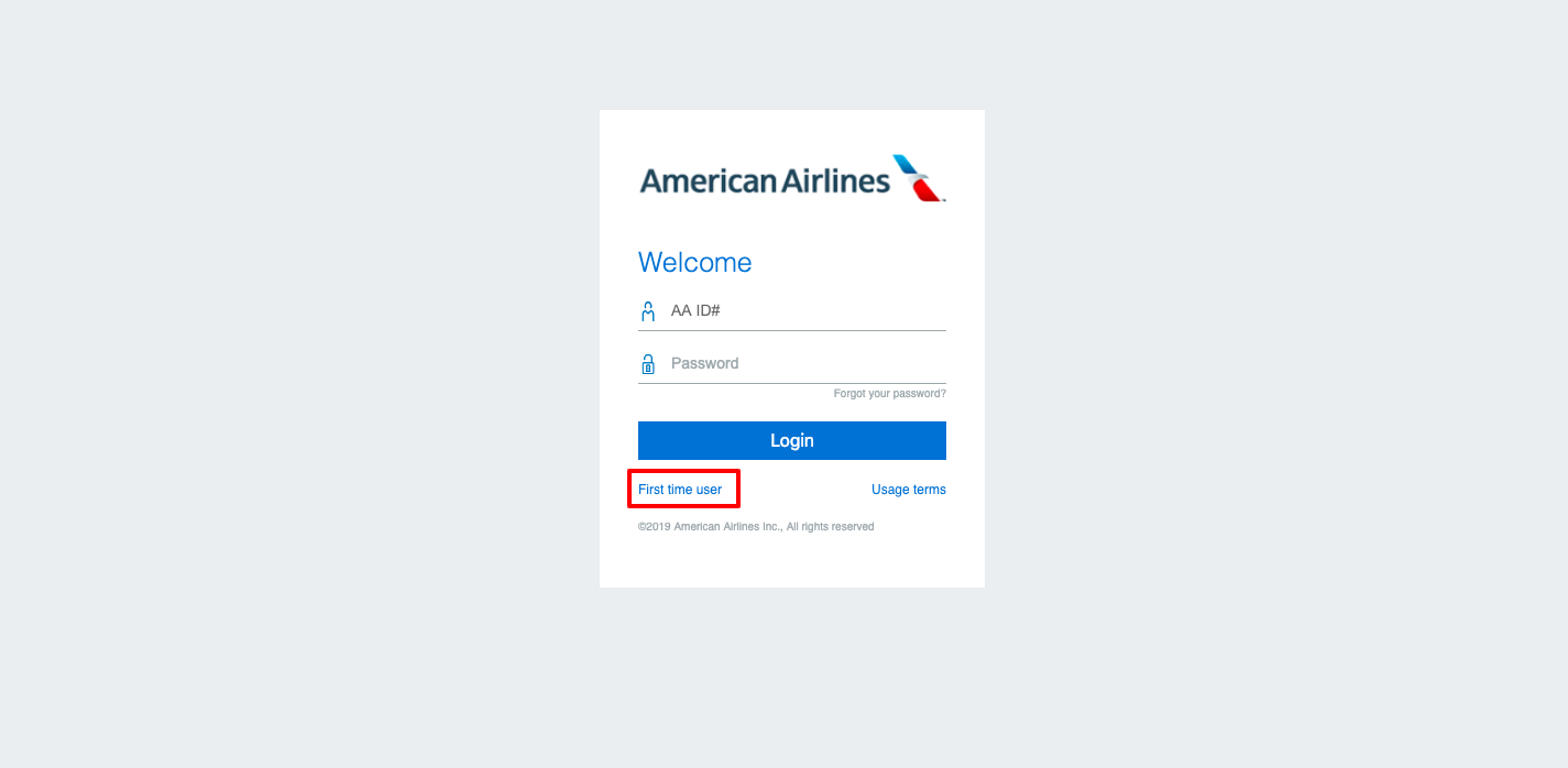 US Airways airlines login