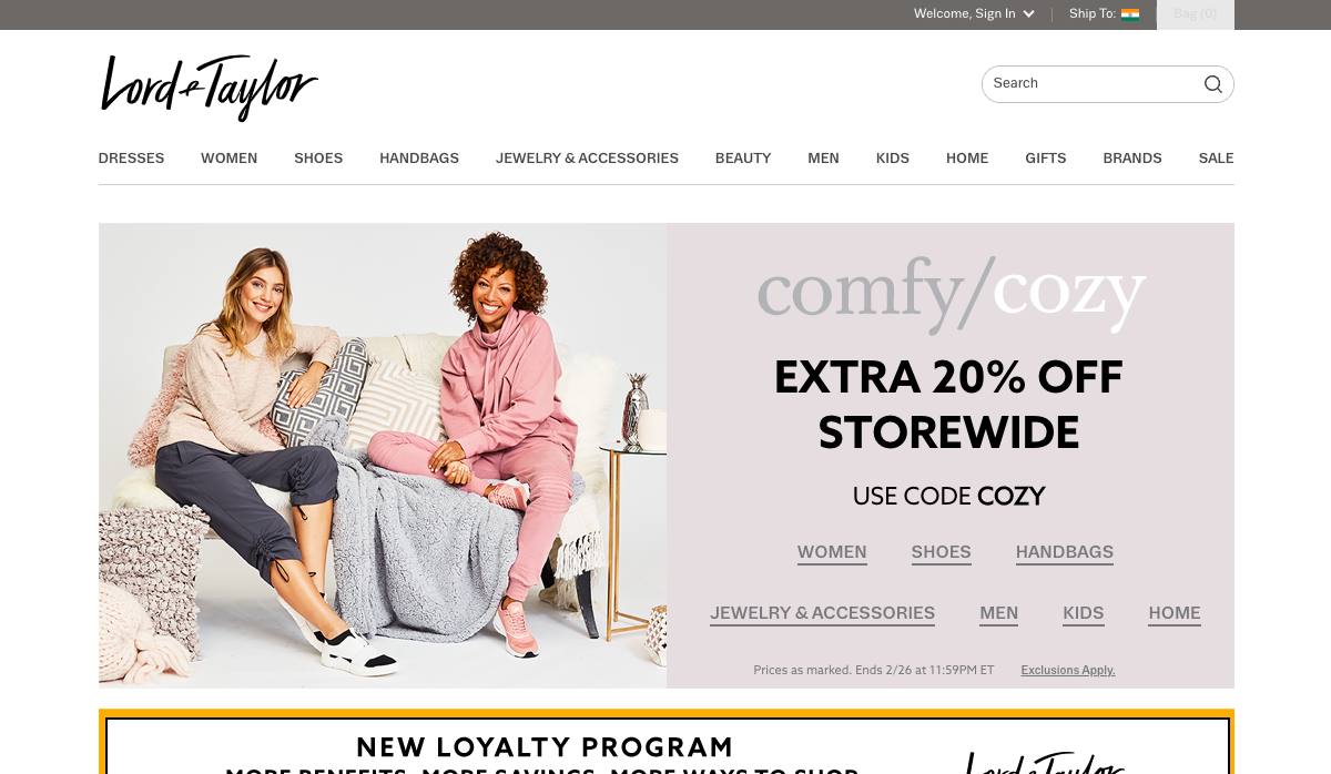 mylordandtaylor.com – My Lord And Taylor Portal Login