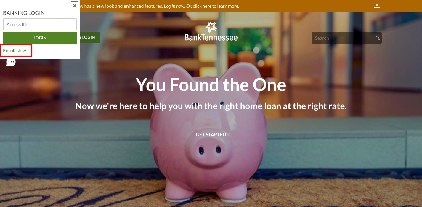 BankTennessee Banking Login