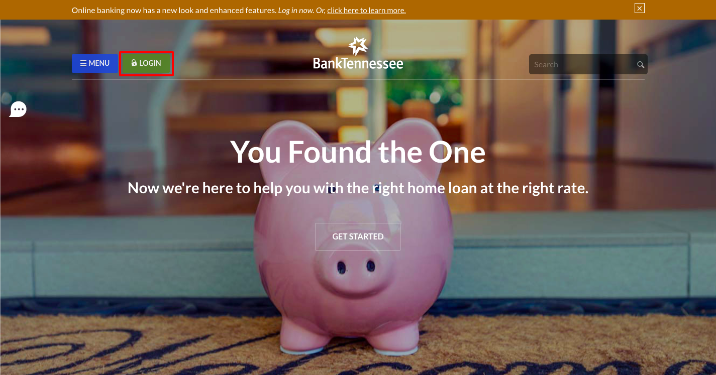 BankTennessee Login