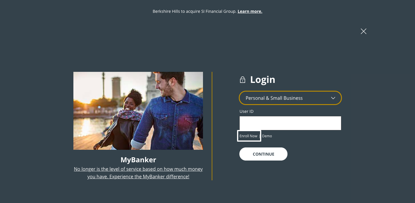 Berkshire Bank Online Login
