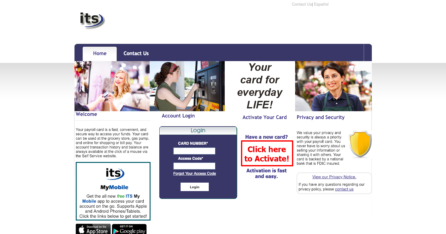 Prepaid Self Service Payroll Login