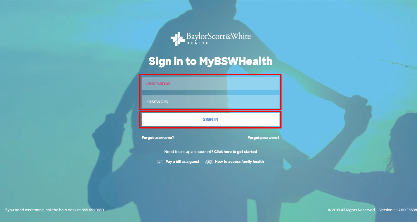 Baylor Scott & White Health Login