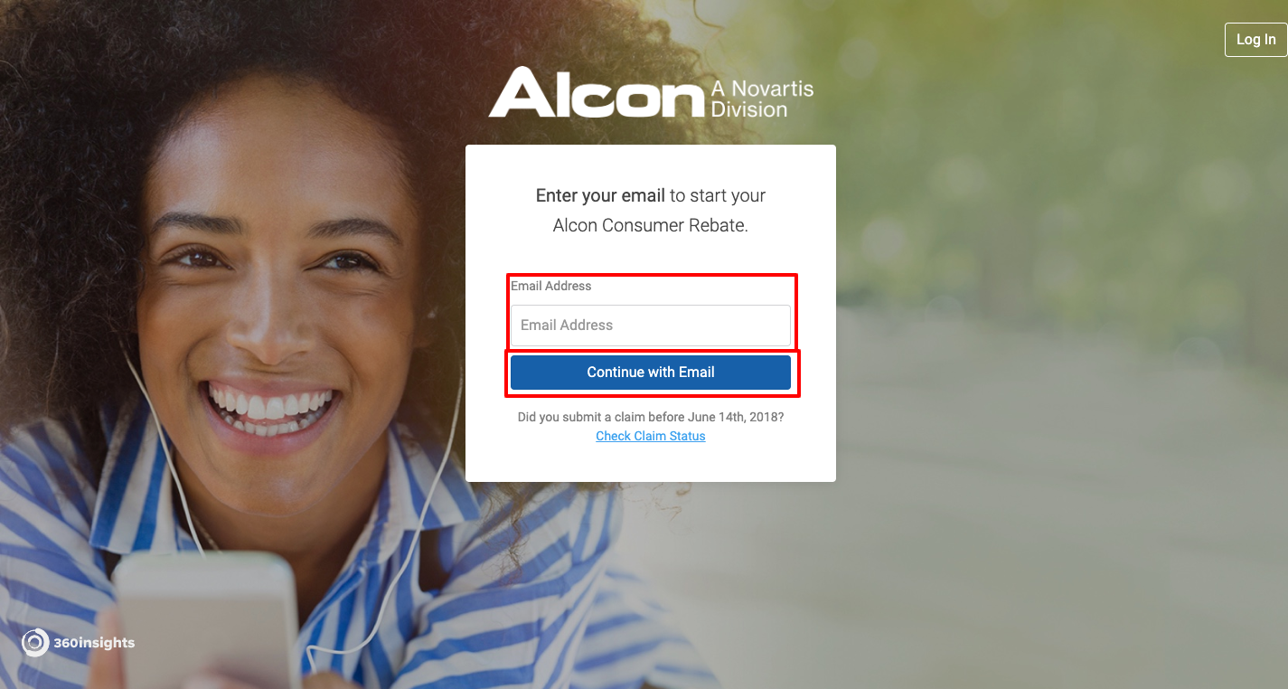 Alcon Lens Rebate Center Login