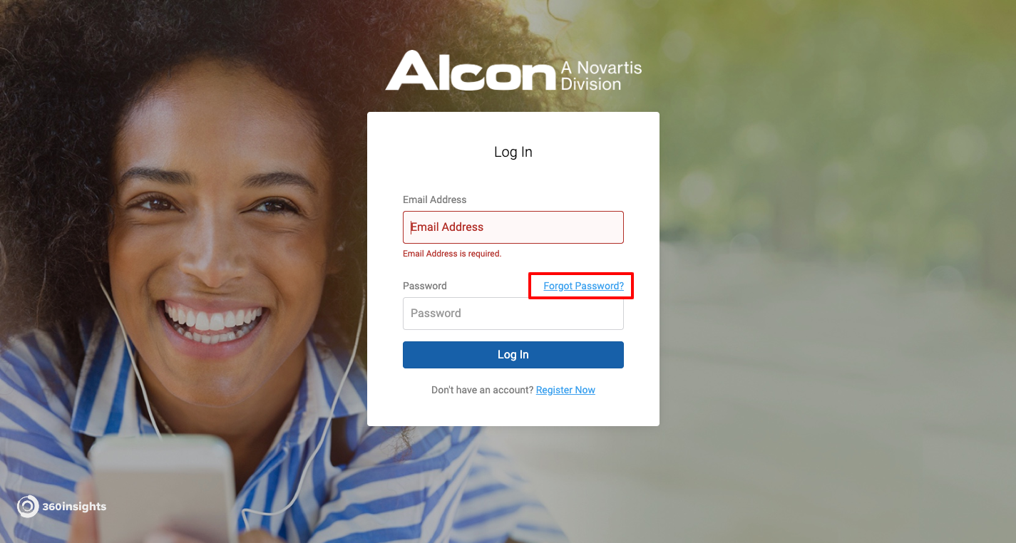 alcon rebate login