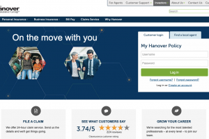 www.hanover.com – Hanover Insurance Policy Account Login