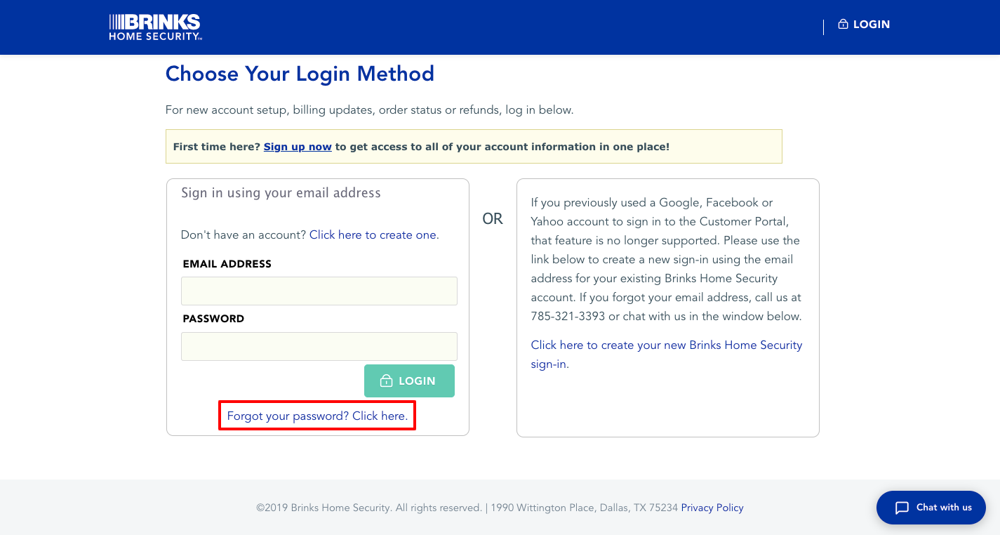 brinks security login