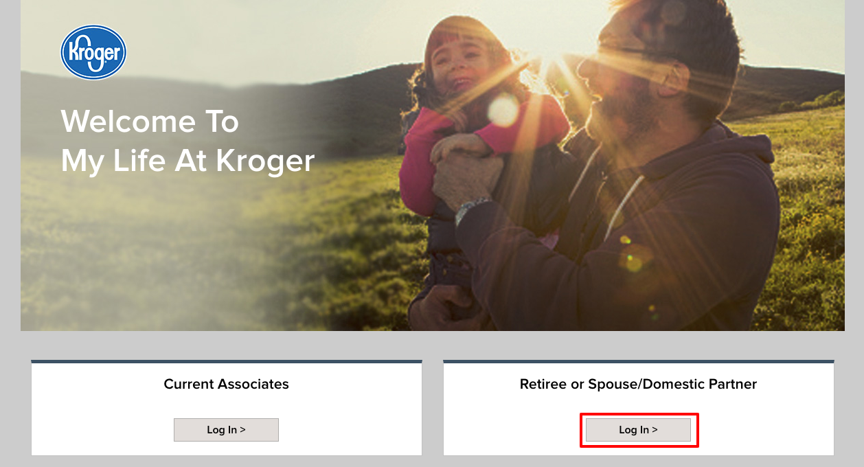 secure web login kroger