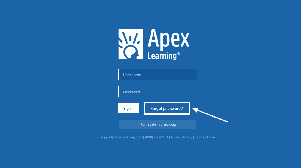 Apex Learning students portal login