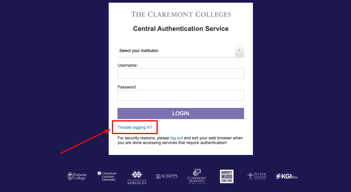 Claremont Mckenna College Students Portal Login