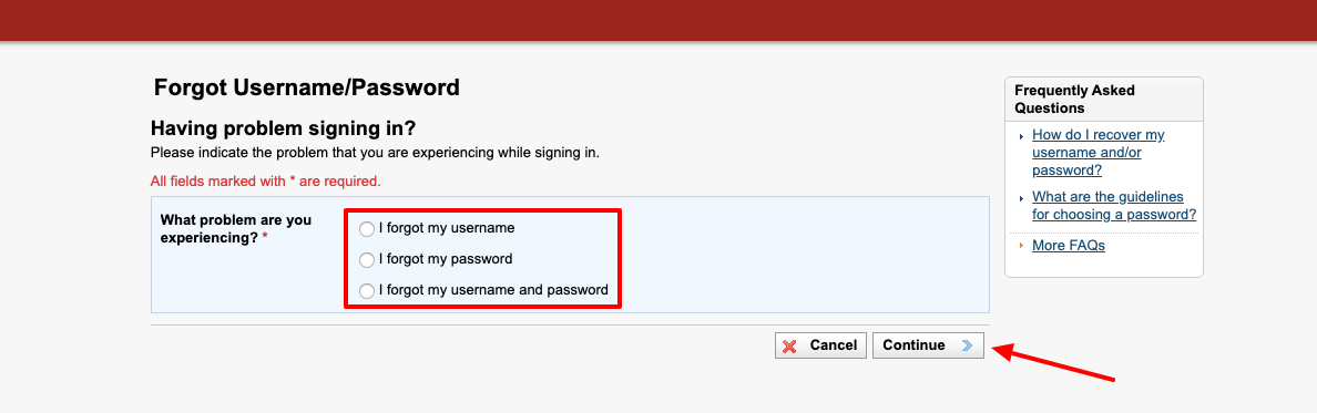 University of Phoenix eCampus forgot password