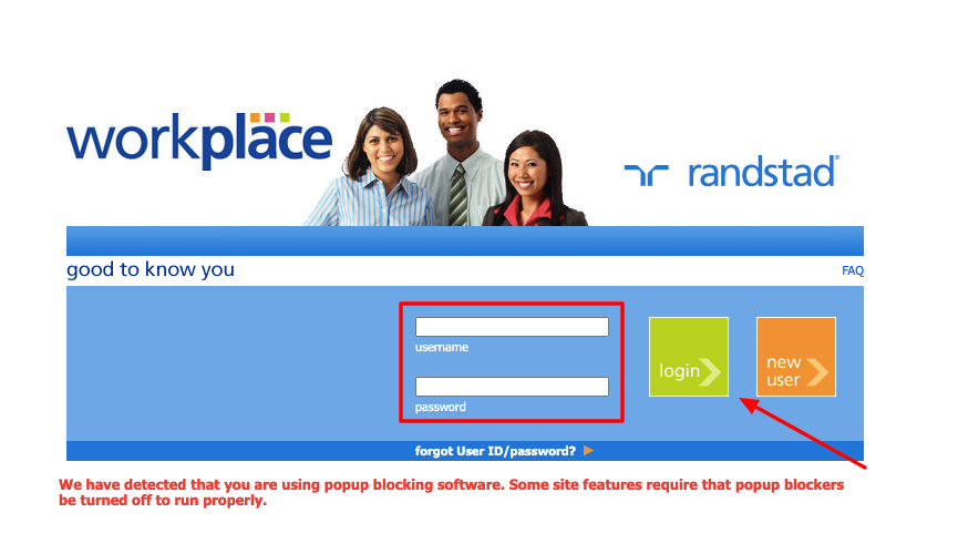 Workplace Randstad Login